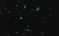 M 65 - M 66 - NGC 3268 Leo Trio